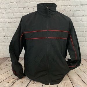 Tek Gear Men's lighweight jacket black size medium